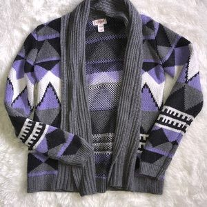 Girl's Sweater Cardigan